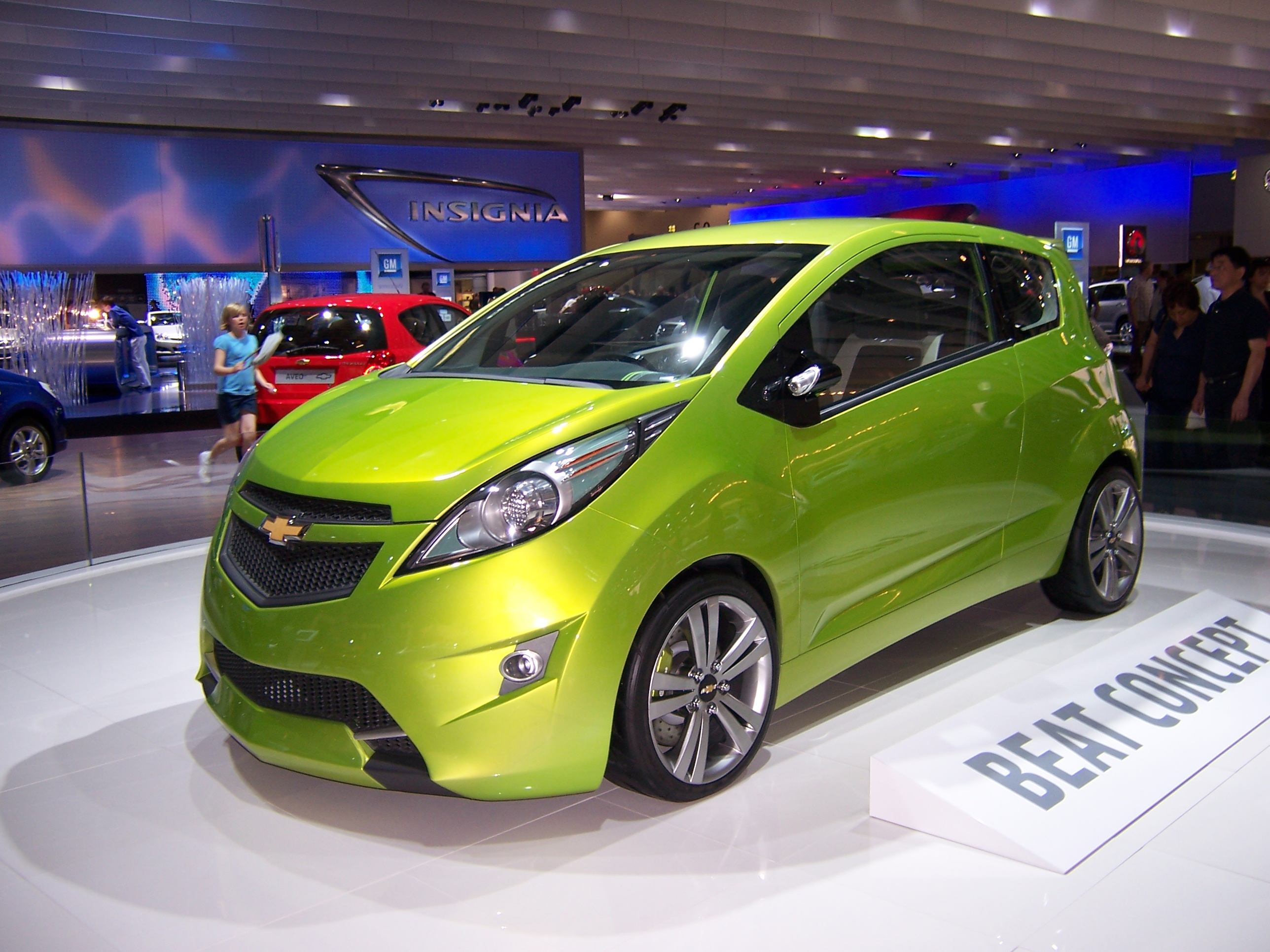 Chevy Spark Neon Green Paint Color Code