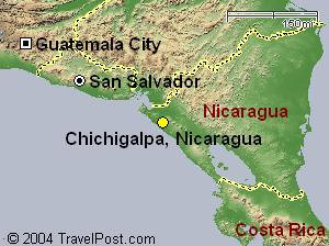 Chichigalpa Map