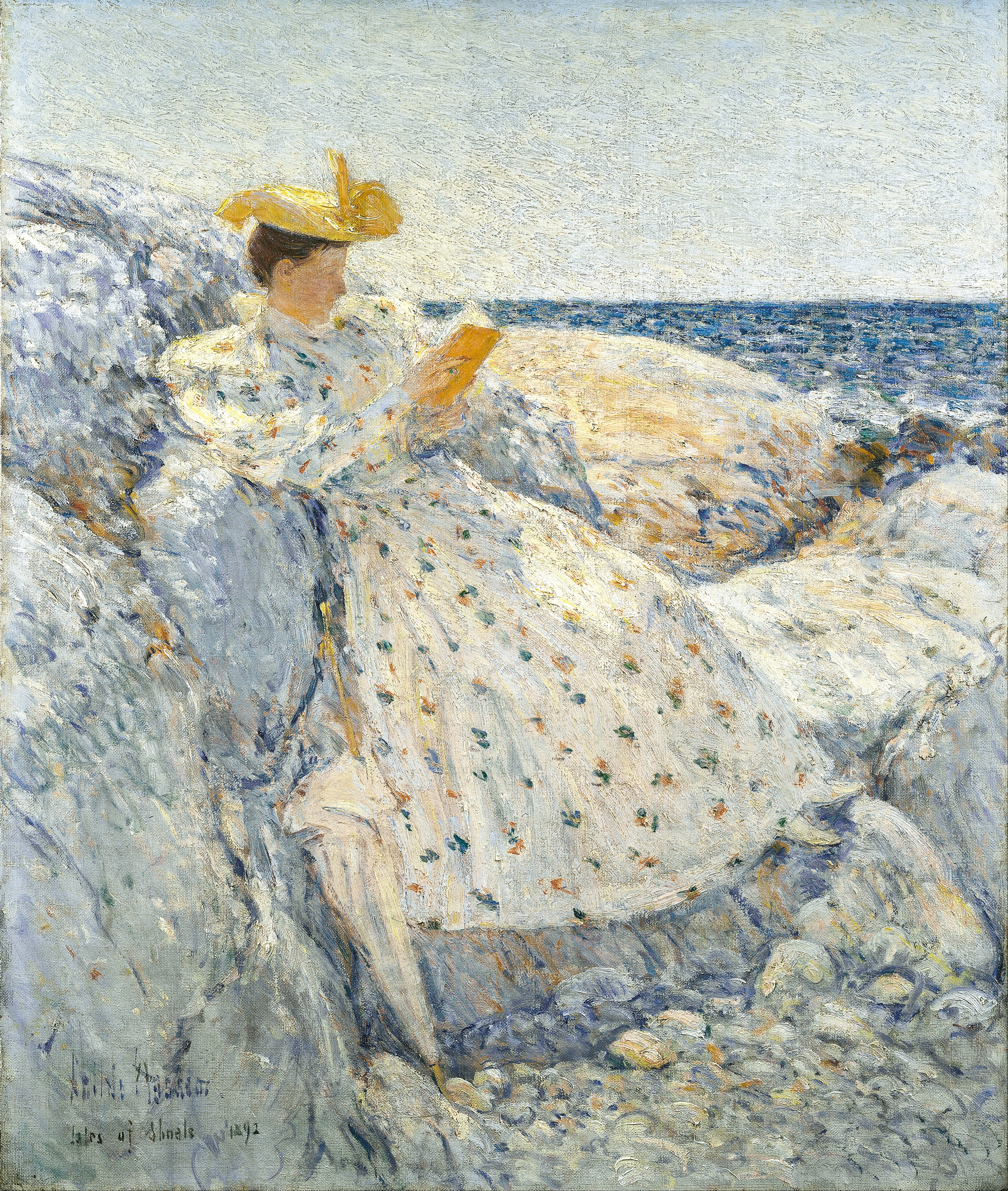 Childe Hassam Watercolor