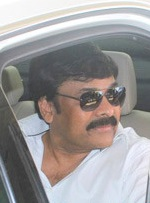 Chiranjeevi snapped at Mumbai International Airport in February 2016.jpg