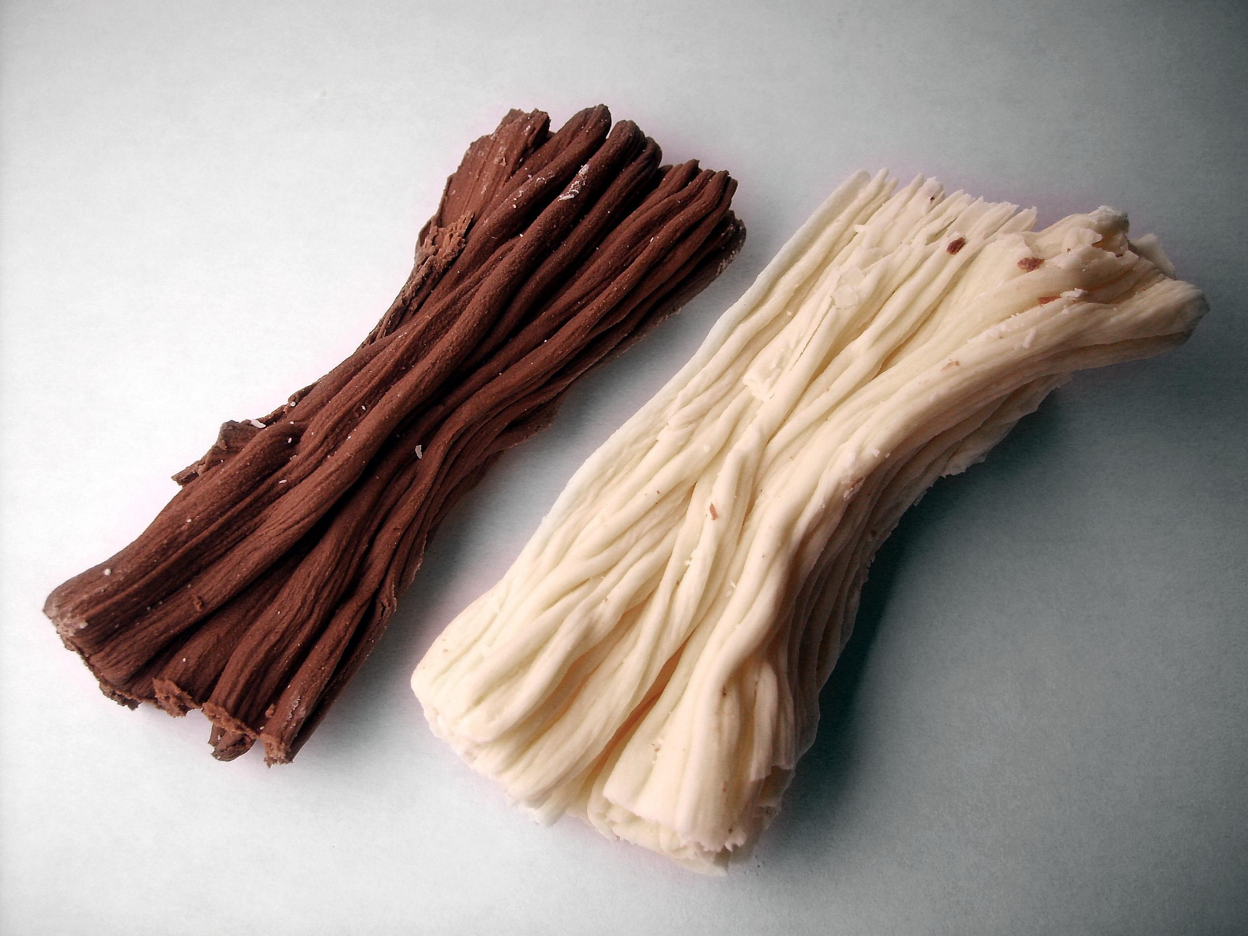 Baño Sencillo De Chocolate:Chocolate En Rama