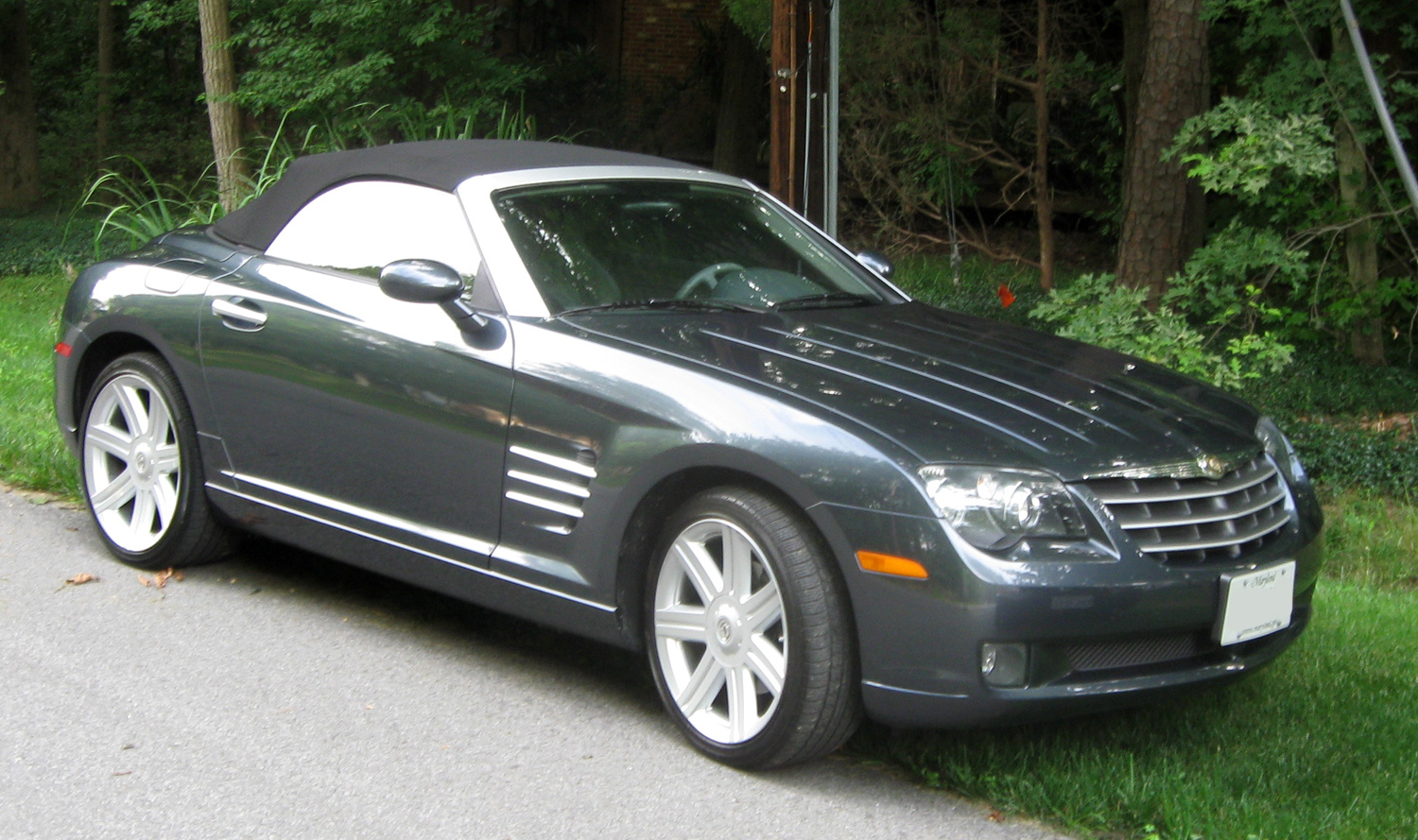 file chrysler crossfire convertible 07 04 wikimedia commons. Black Bedroom Furniture Sets. Home Design Ideas