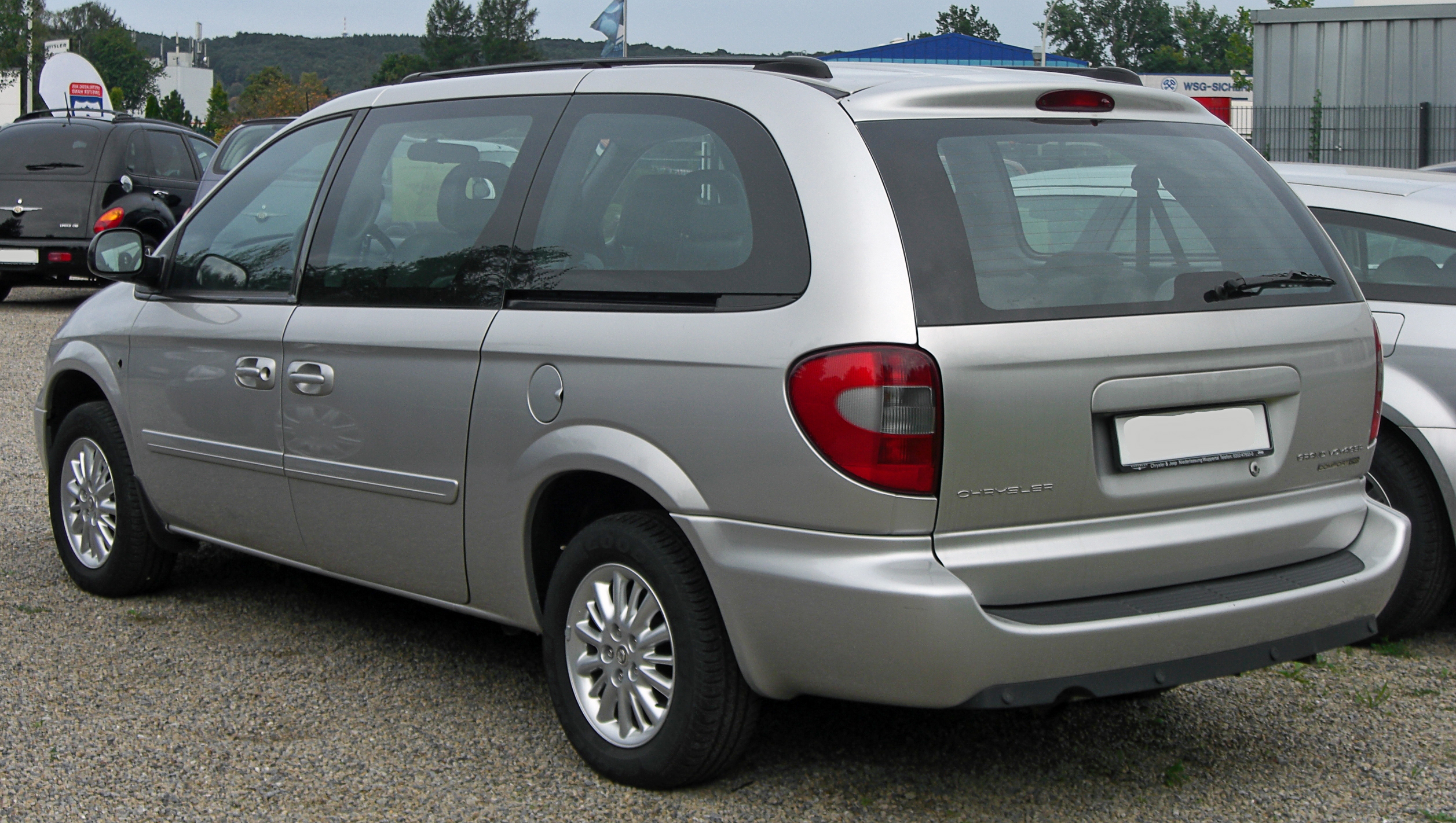 file chrysler grand voyager comfort crd facelift rear jpg wikipedia. Black Bedroom Furniture Sets. Home Design Ideas
