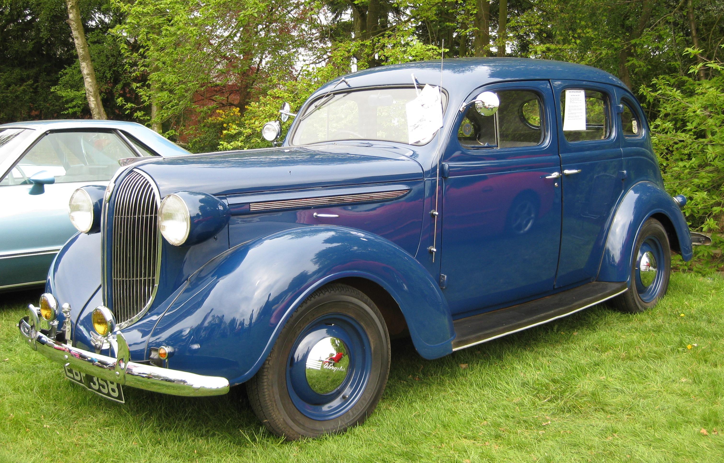 Auto Park Plymouth >> File:Chrysler Wimbledon aka Plymouth P6 1938.JPG - Wikimedia Commons