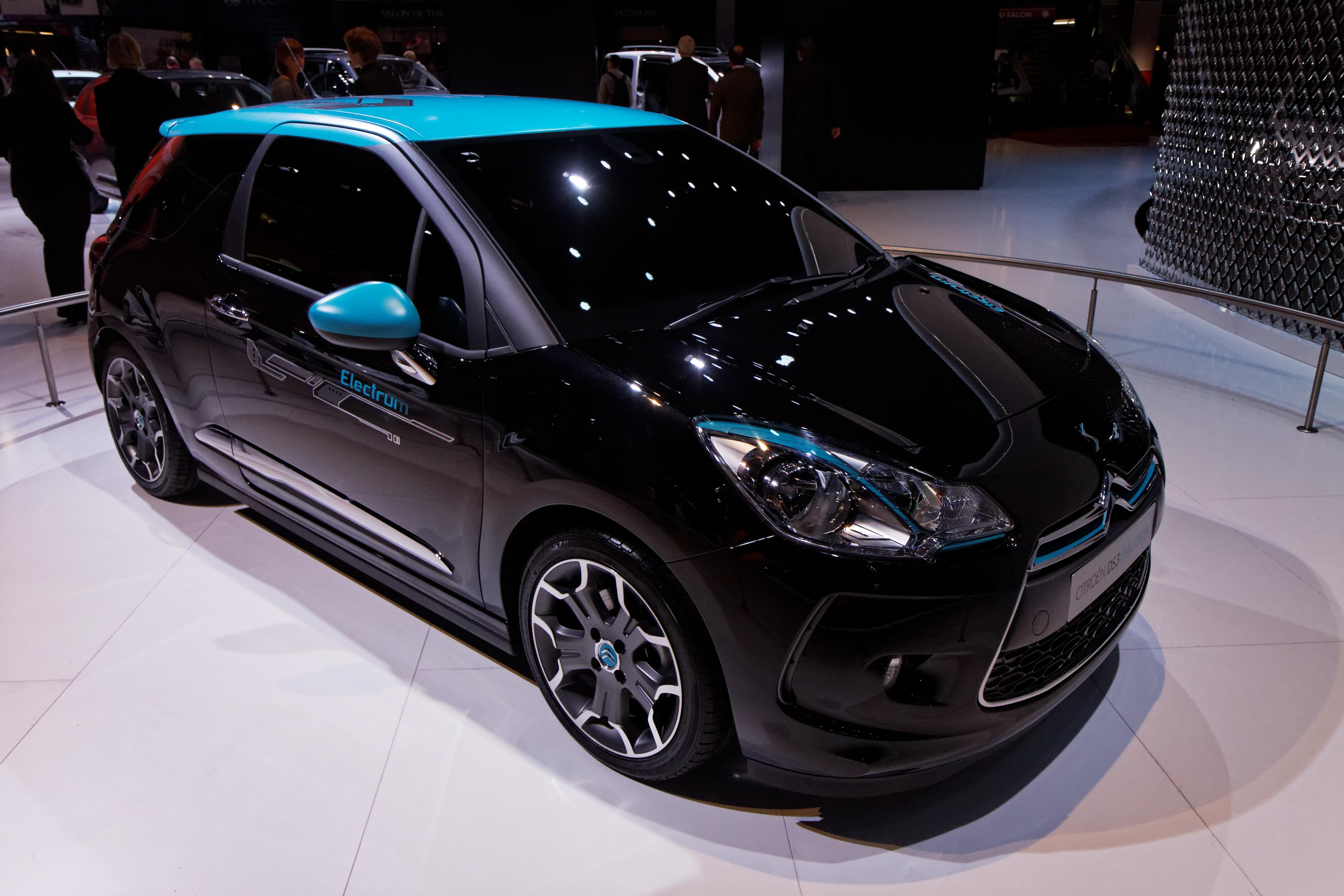 file citro n ds3 electrum mondial de l 39 automobile de paris 2012 wikimedia commons. Black Bedroom Furniture Sets. Home Design Ideas
