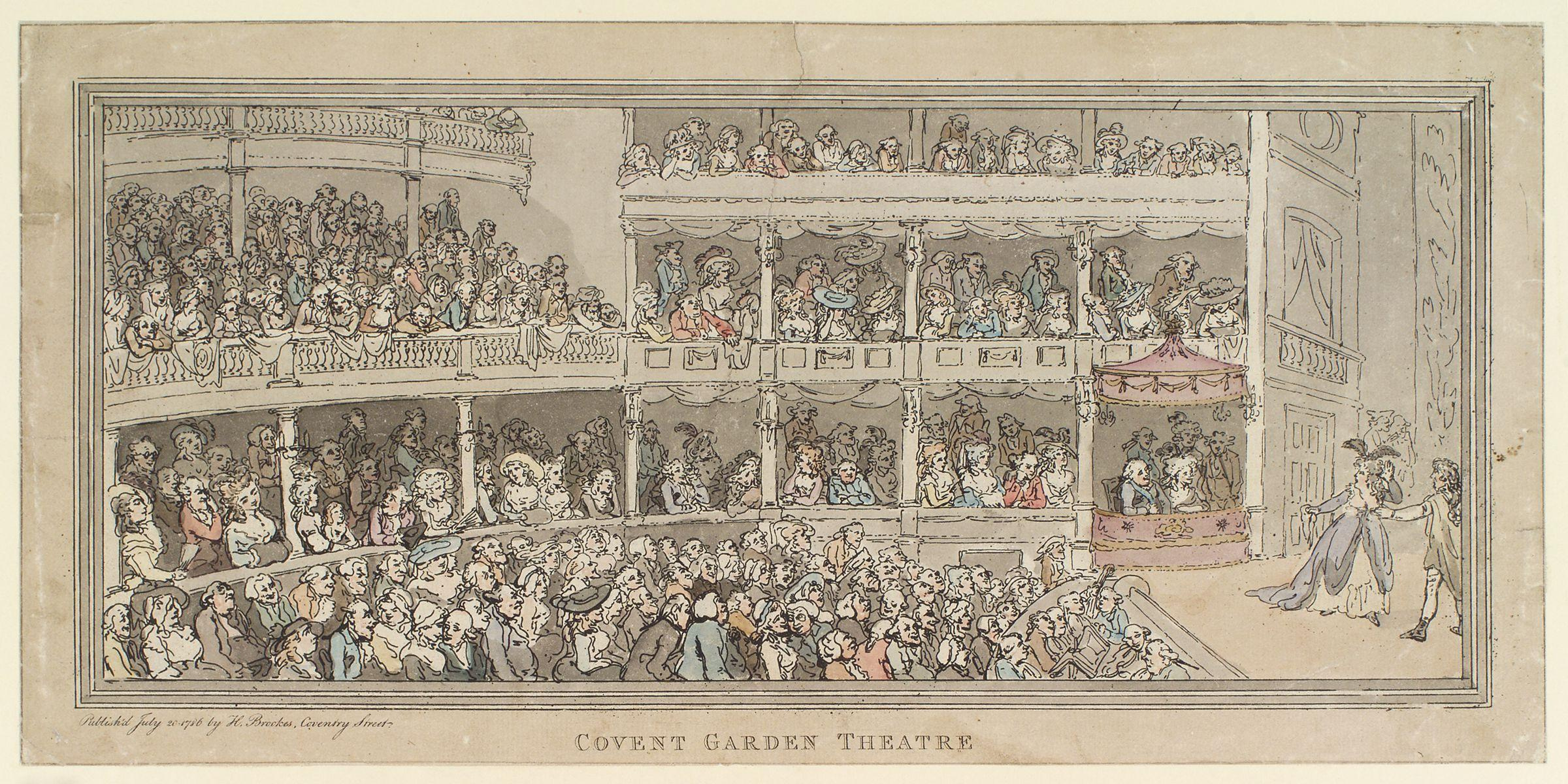 Covent Garden Theatre History File Covent Garden Theatre by