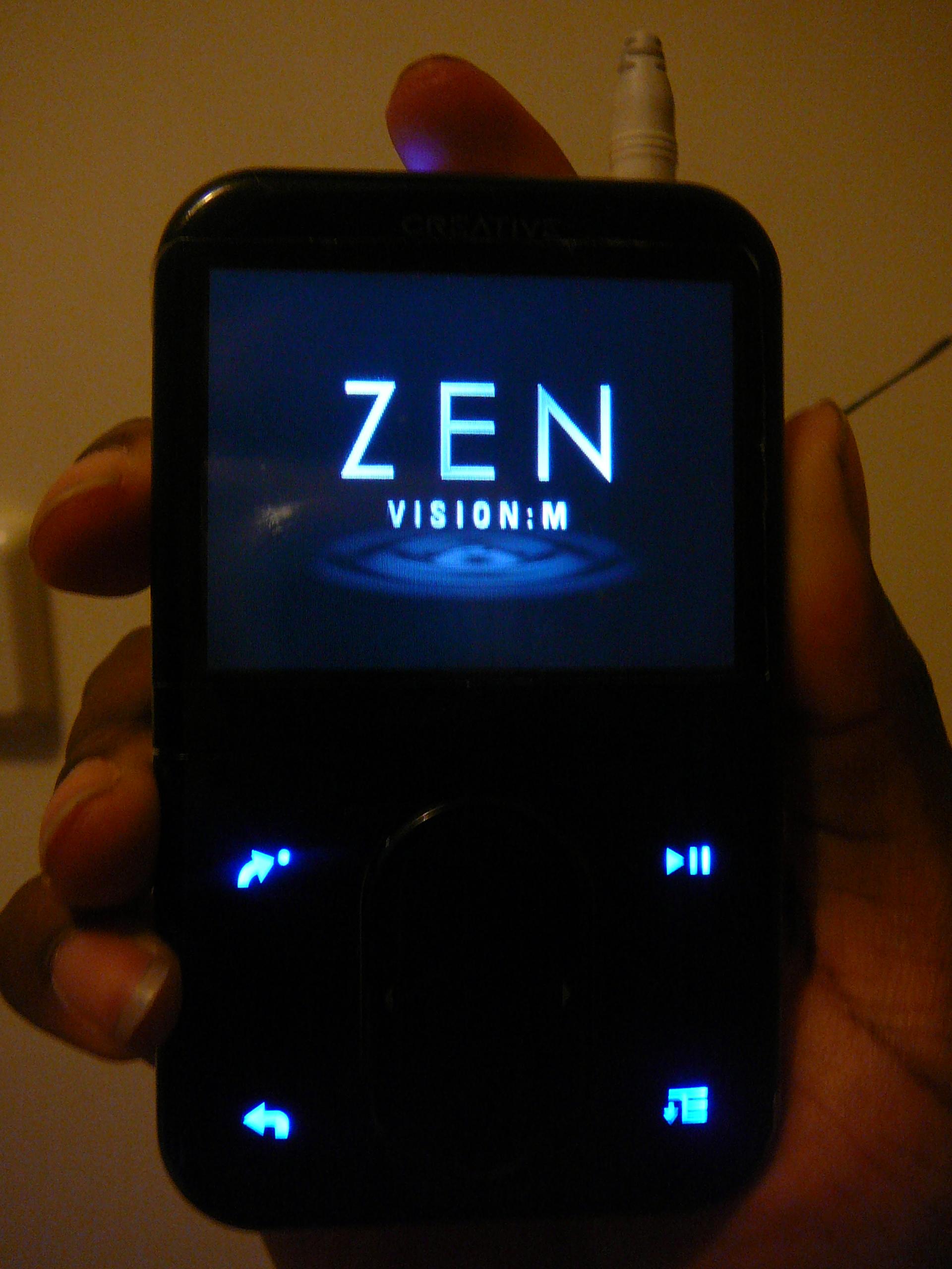 Amazon.com: Creative Zen Vision:M Sync.
