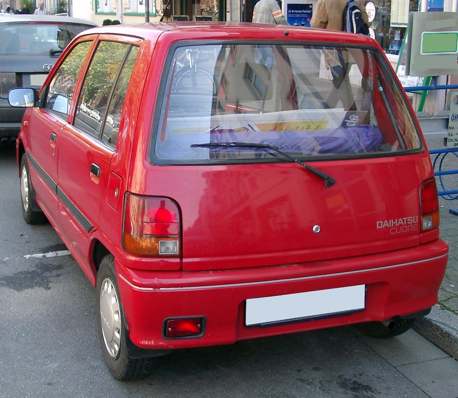 Daihatsu: File:Daihatsu Cuore Rear 20071009.jpg