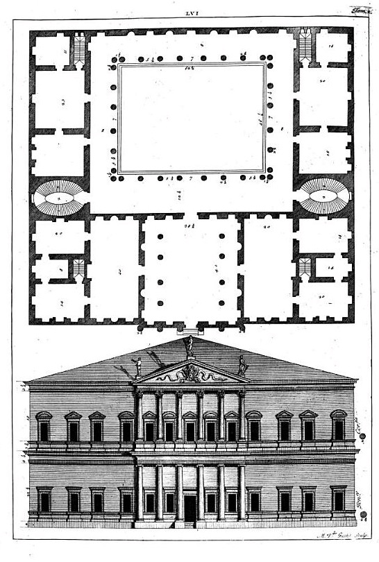 Dessin de Palladio - Projet villa des comtes Francesco et Lodovico de Trissini.jpg