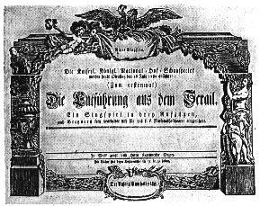 Risultati immagini per il ratto del serraglio 1782