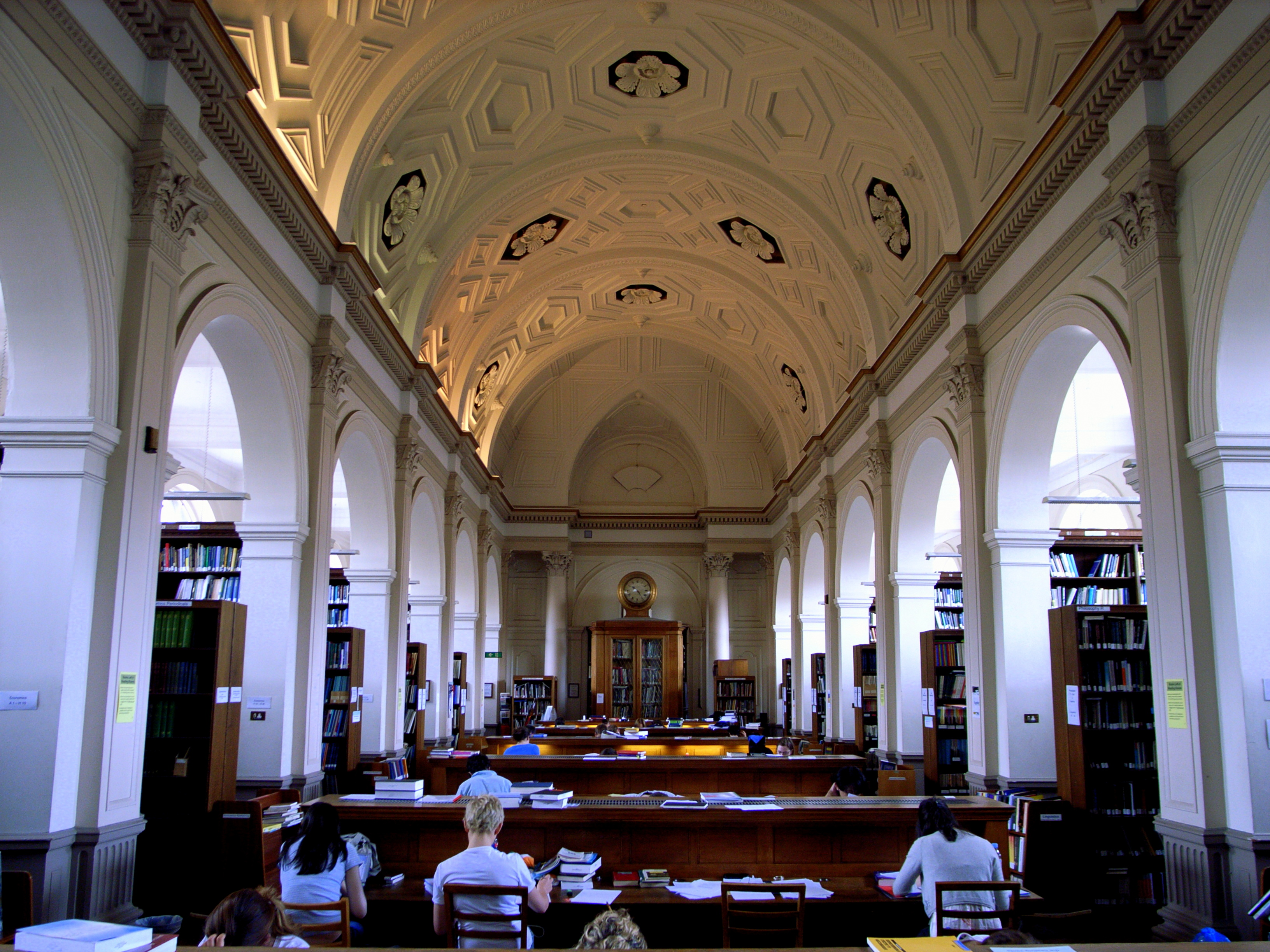 Donaldson Reading room, UCL. source: Wikicommons