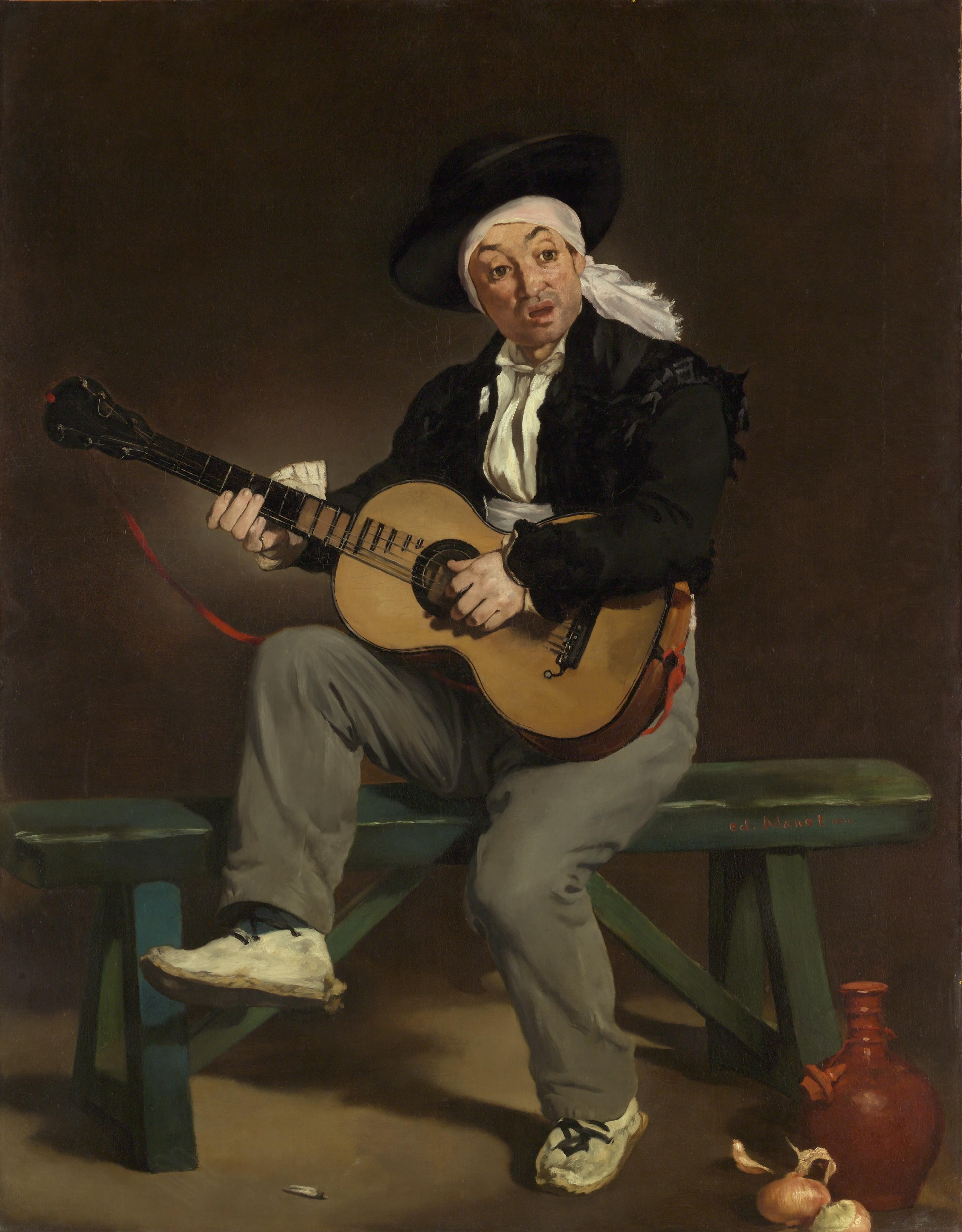 Edouard Manet   Le chanteur espagnol