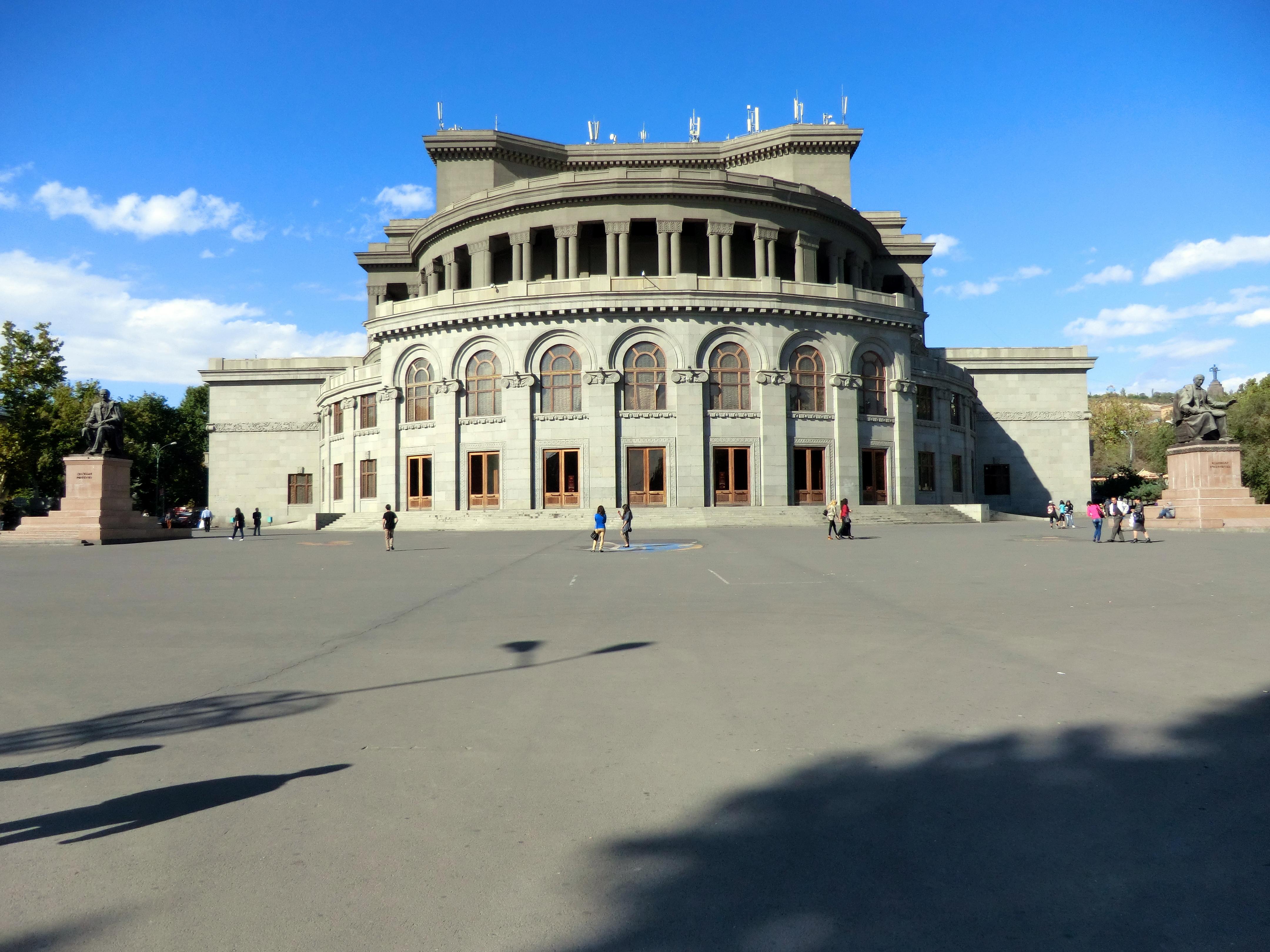 Lovely File:Exterior Of Opera House Of Yerevan.JPG
