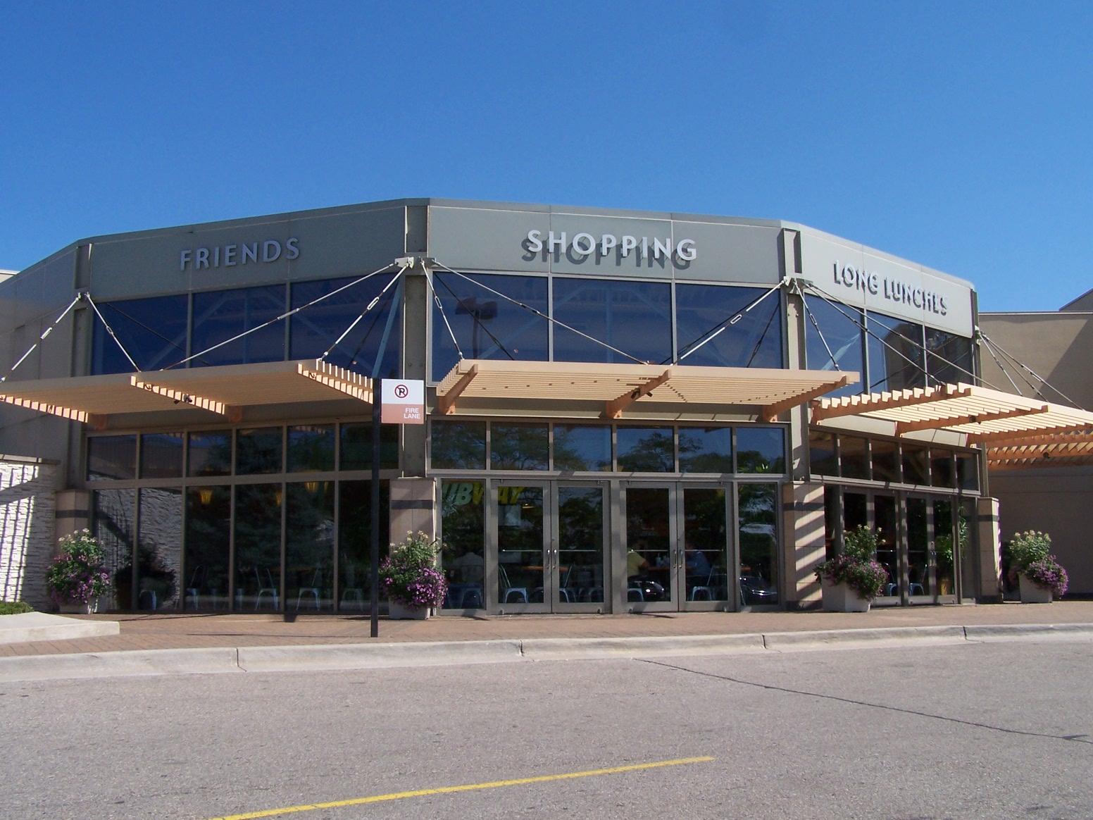 fairlane town center architecture