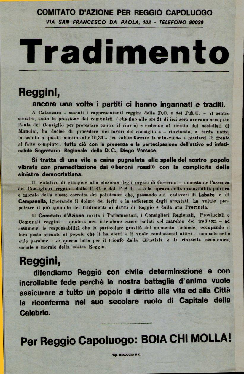 Eccezionale File:Fatti di Reggio Tradimento.jpg - Wikimedia Commons FW38