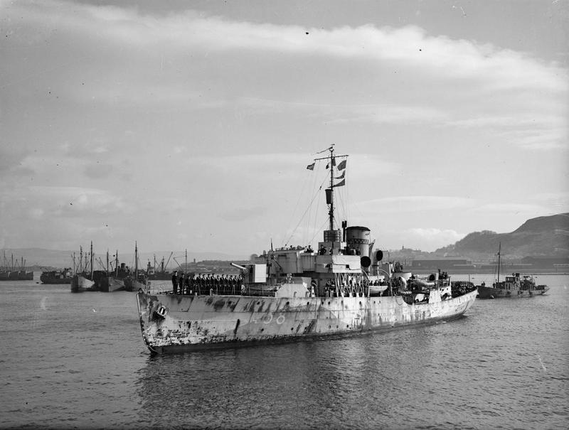 Fighting_French_Corvette_Sinks_2_U-boats