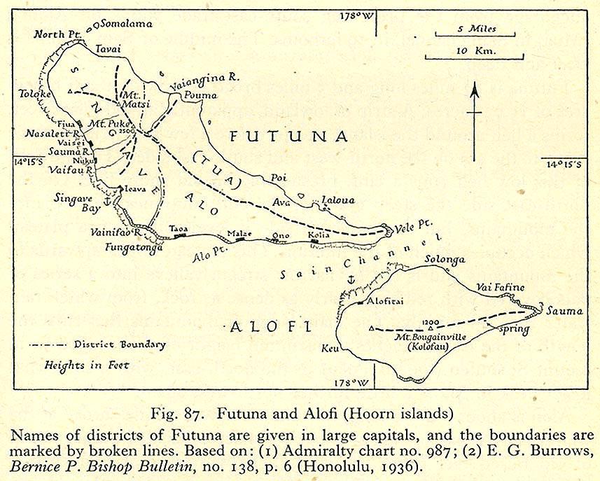 Futuna Wallis And Futuna Wikipedia - Wallis and futuna map