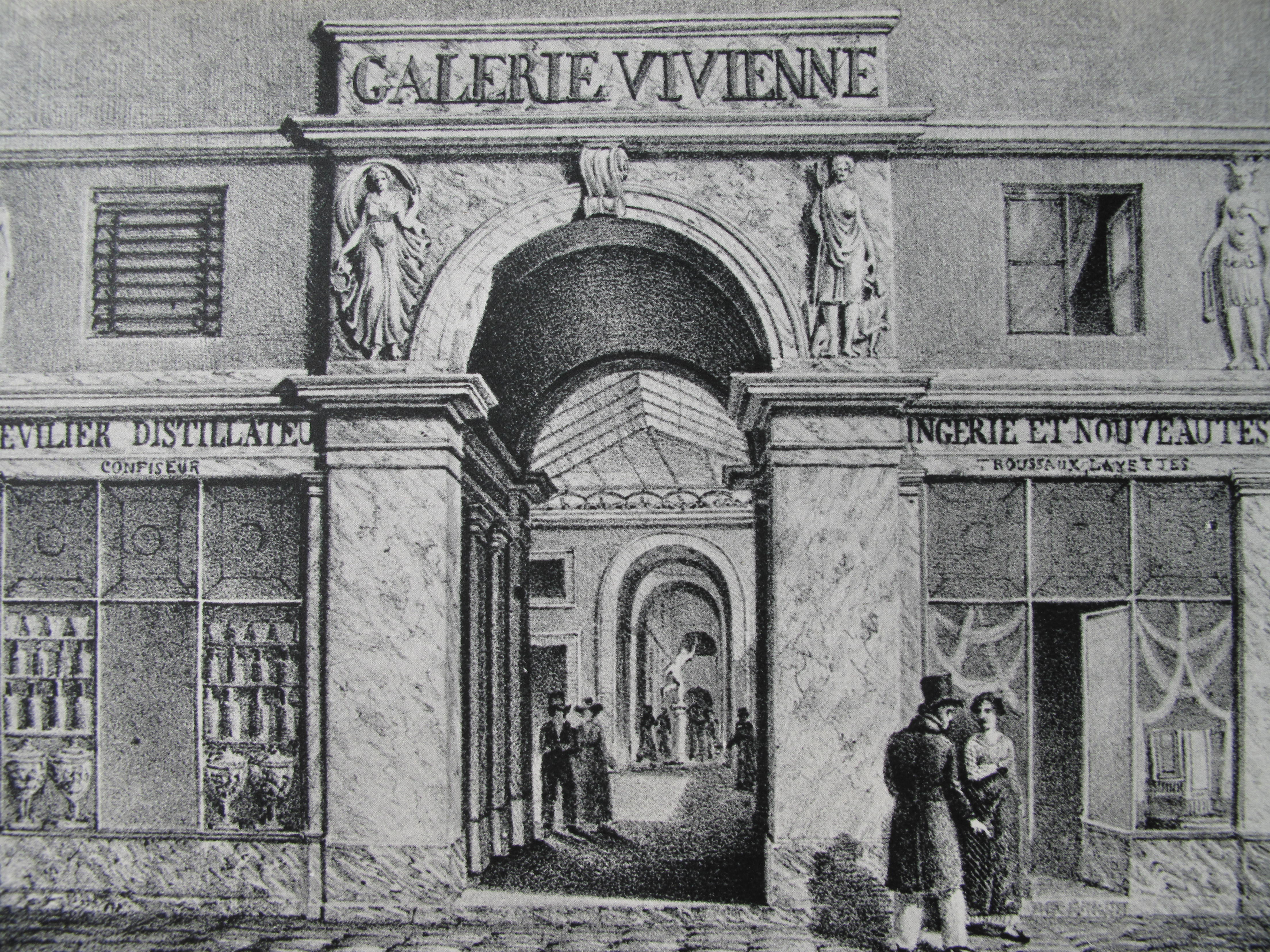 Galerie Vivienne 1820