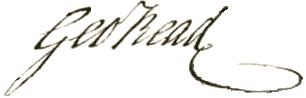George Read Signature