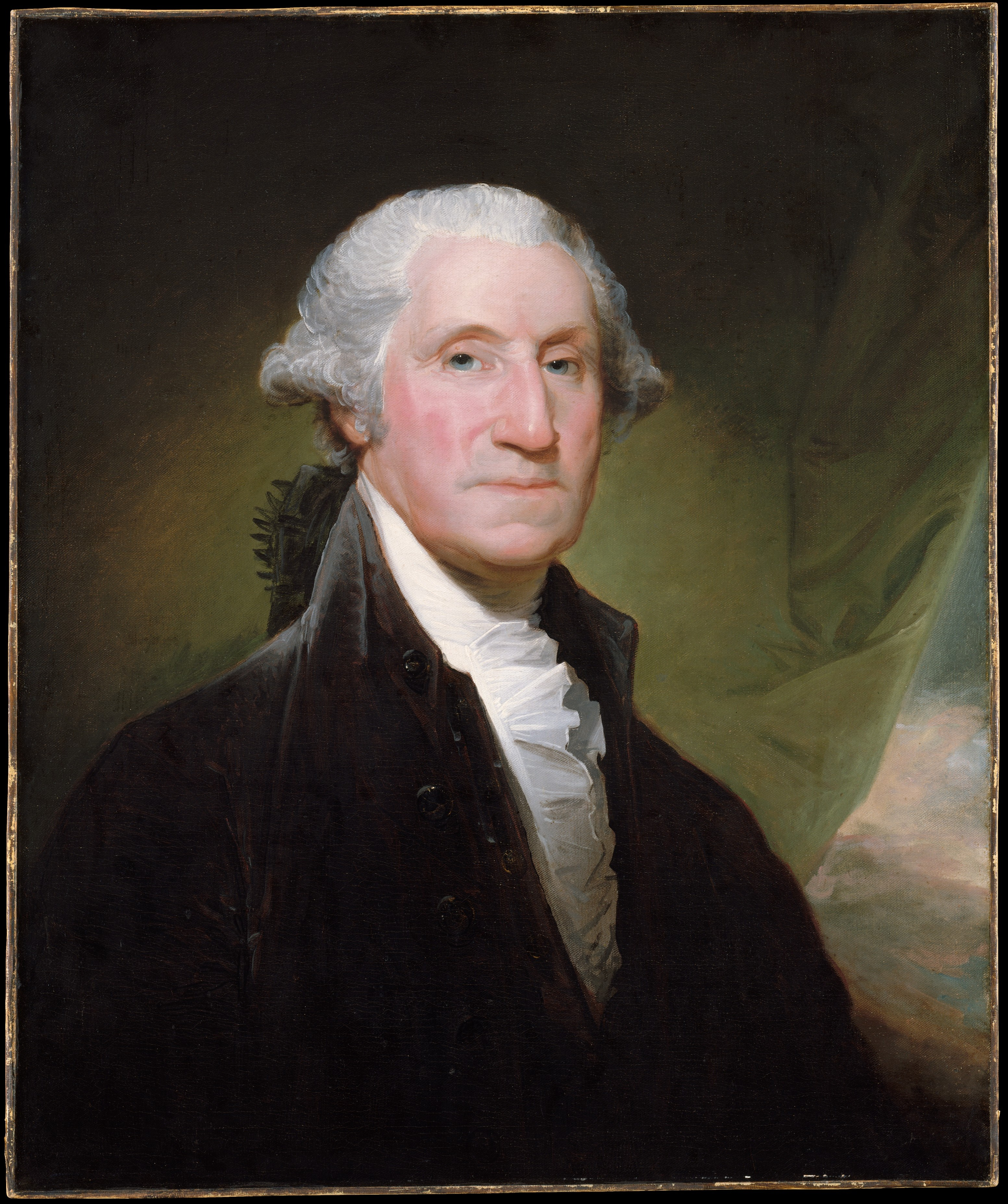 George Washington's mastery of the cravat was total.
