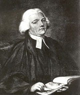 Depiction of Gilbert White