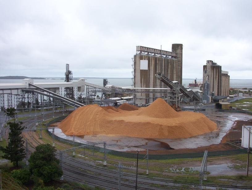 File Gladstone Queensland Australia Storage Silos On
