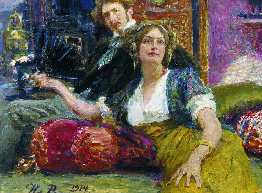 俄罗斯画家:伊利亚-叶菲莫维奇-列宾画集和传记(2)图片