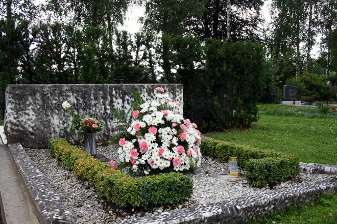 Grabstätte von Ingeborg Bachmann