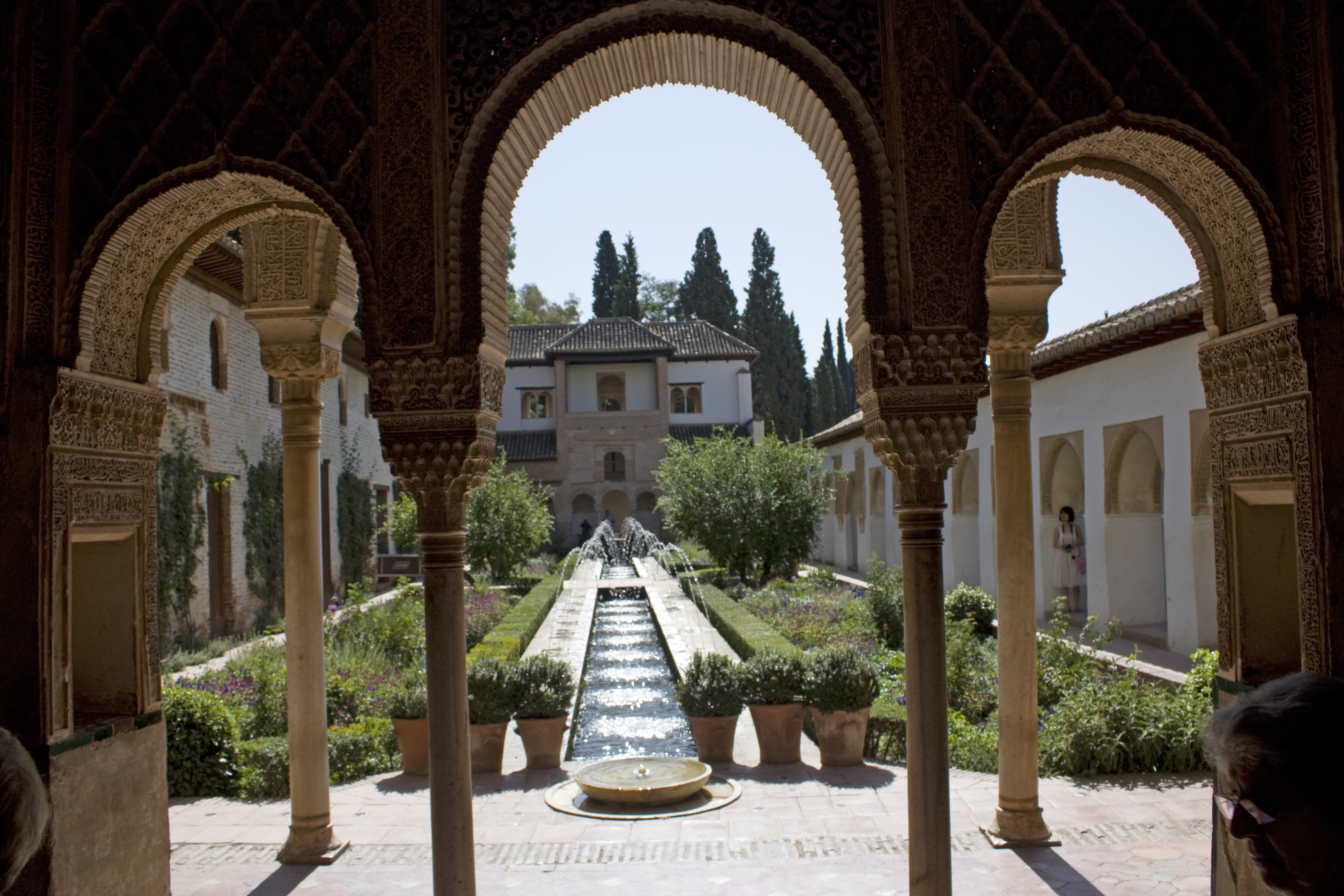 File granada la alhambra 47 jardin du generalife 2 for Jardines alhambra