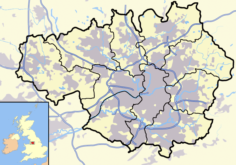 filegreater manchester outline map with ukpng