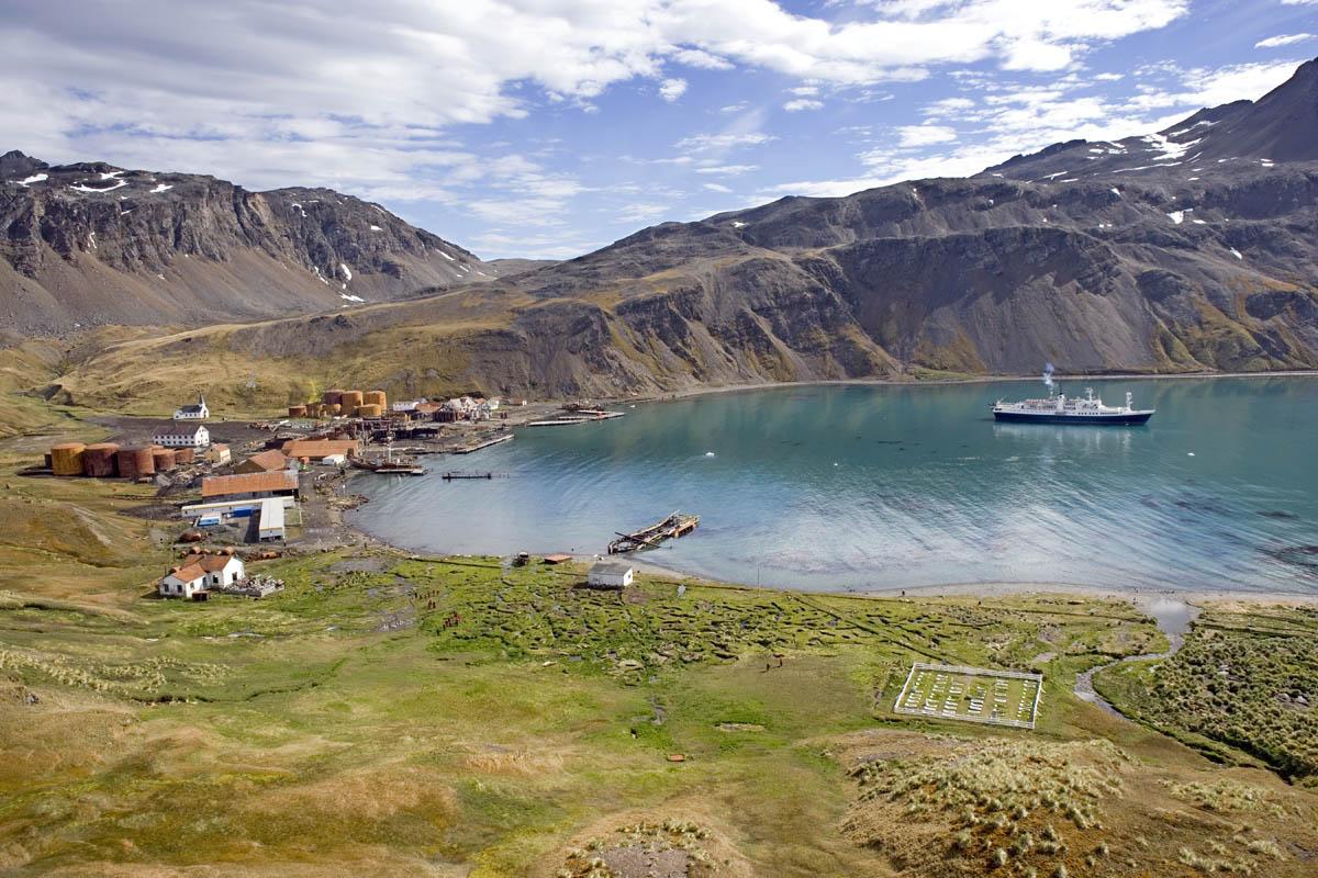 Grytviken, un lugar lejos del mundo.