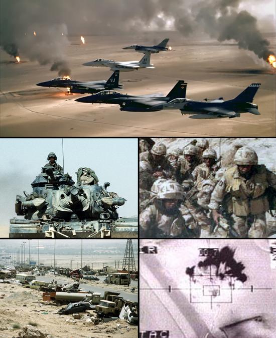 16 de janeiro de 1991 – Hoje começa a Guerra do Golfo Pérsico