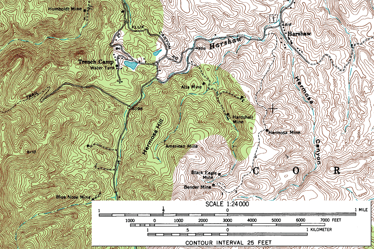 FileHarshaw Area USGS Topographical MapJPG Wikimedia Commons - Topagraphical map of us