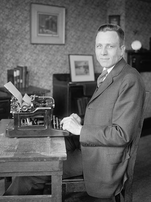 Harvey Fergusson in 1921