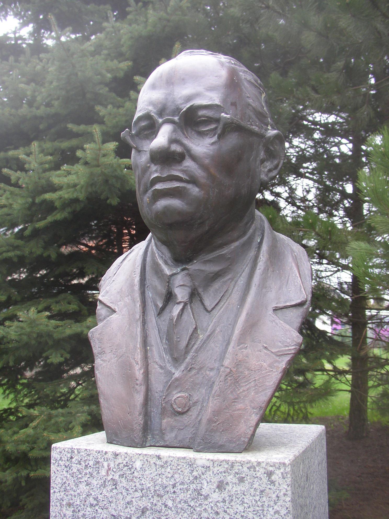 Bust of Josef Lada in [[Hrusice