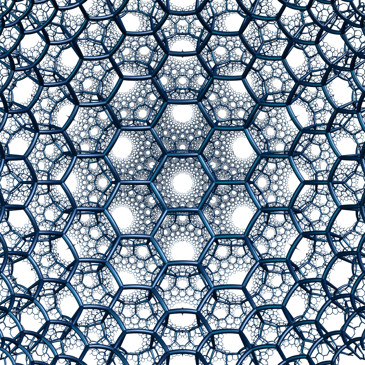 File:Hyperbolic 3d hexagonal tiling.png - Wikimedia Commons