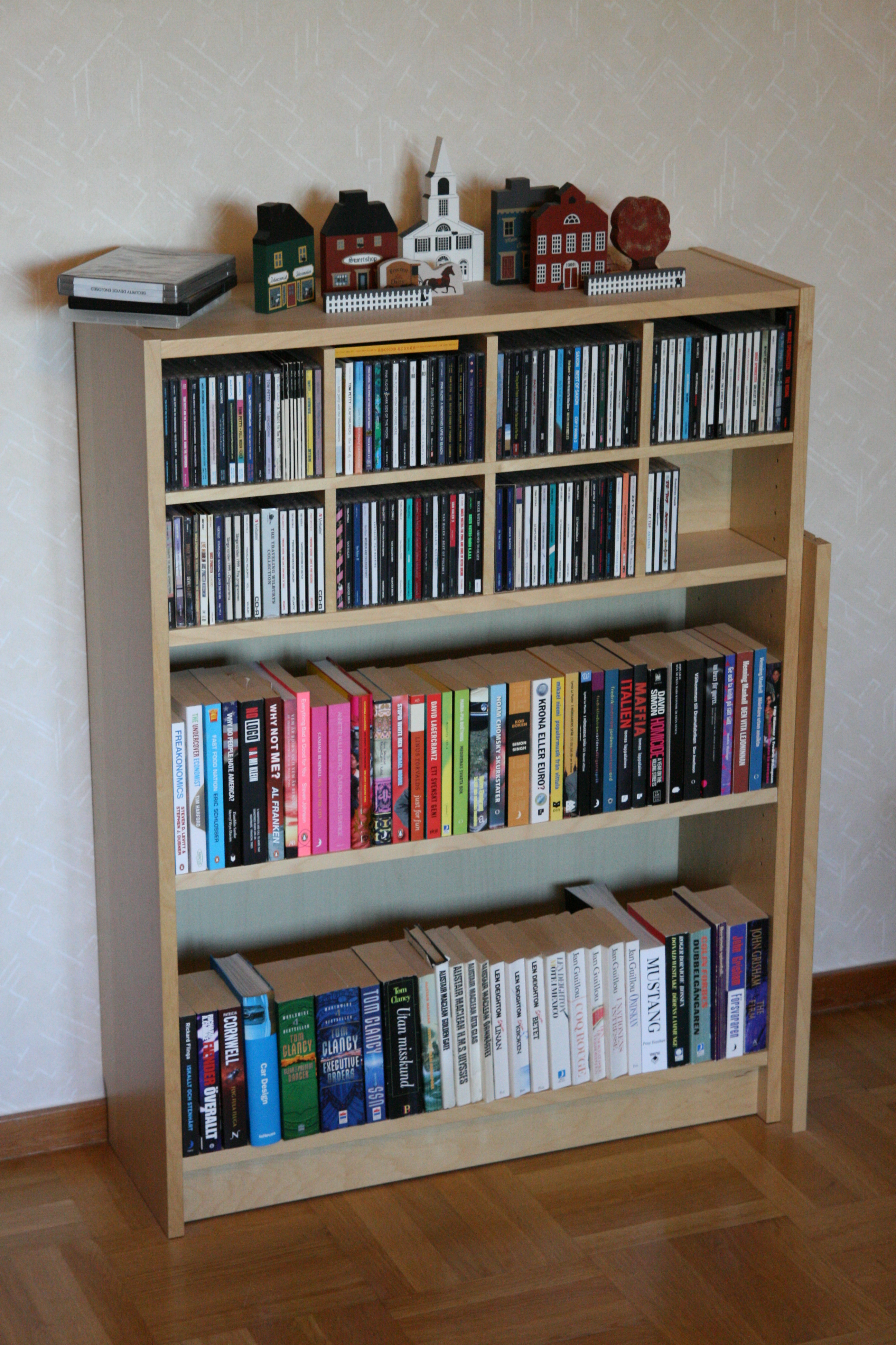 file ikea billy bookshelf 80x106 cm birch veneer jpg wikipedia. Black Bedroom Furniture Sets. Home Design Ideas