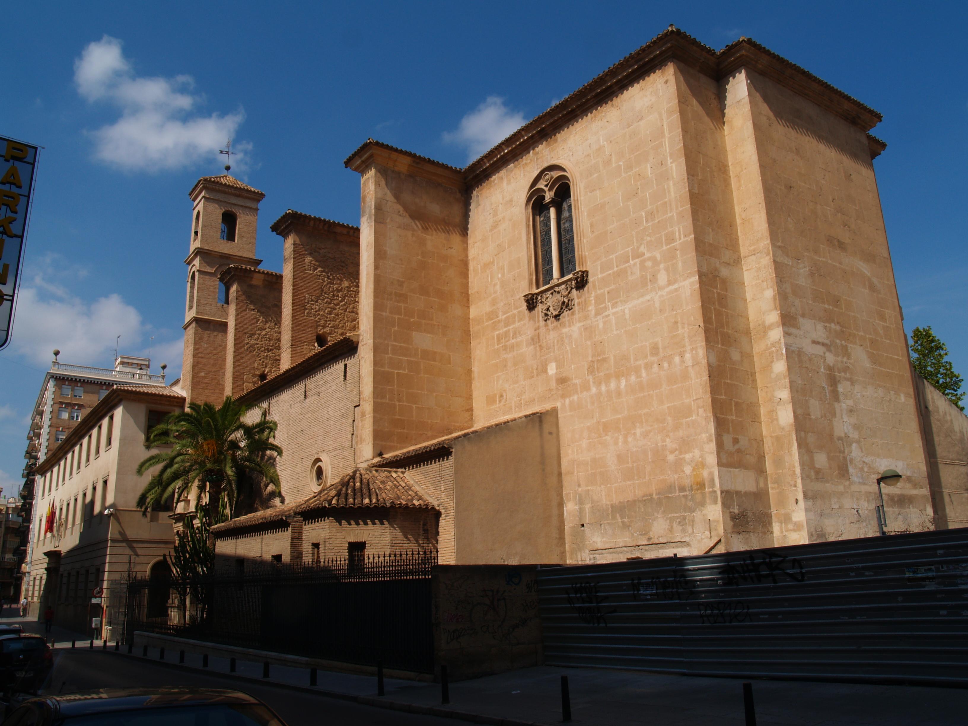 File iglesia de san esteban murcia jpg wikimedia commons - Colegio de arquitectos tecnicos de murcia ...