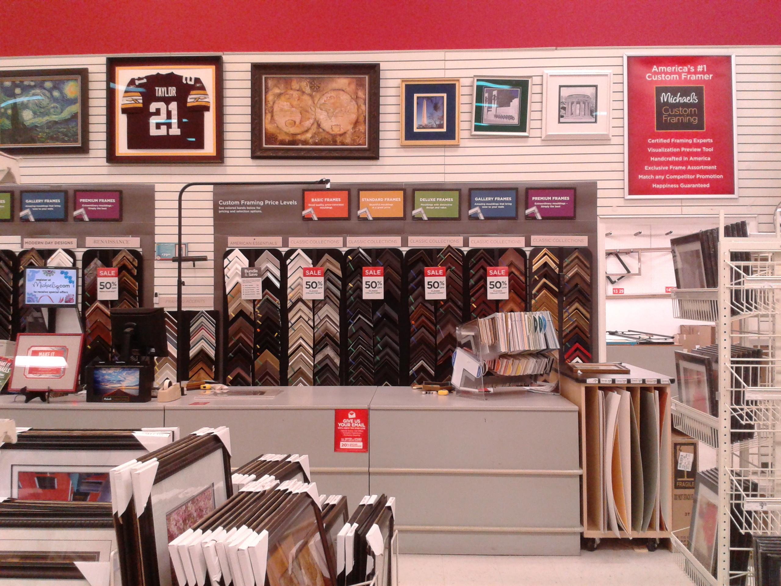 fileinterior of michaels craft store springfield va 2jpeg - Michaels Photo Frames