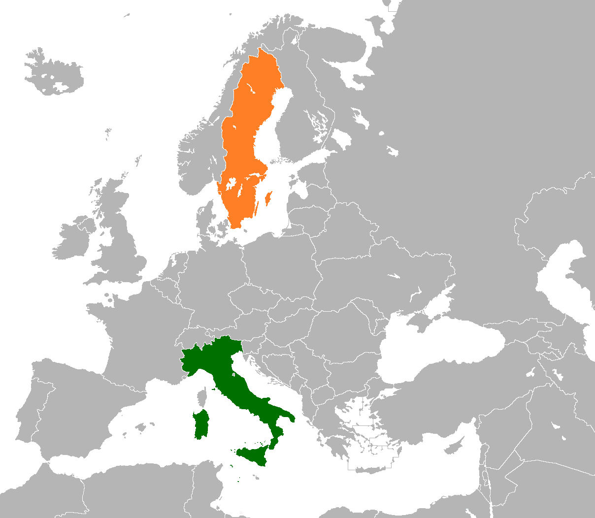 Italy–Sweden relations - Wikipedia