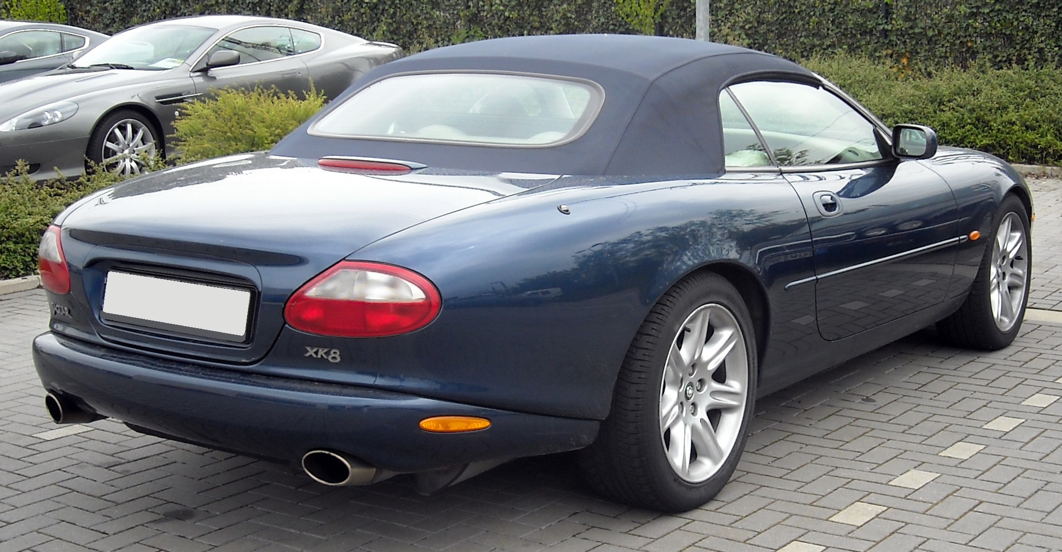 File:Jaguar X100 Convertible rear 20090430.jpg - Wikimedia ...