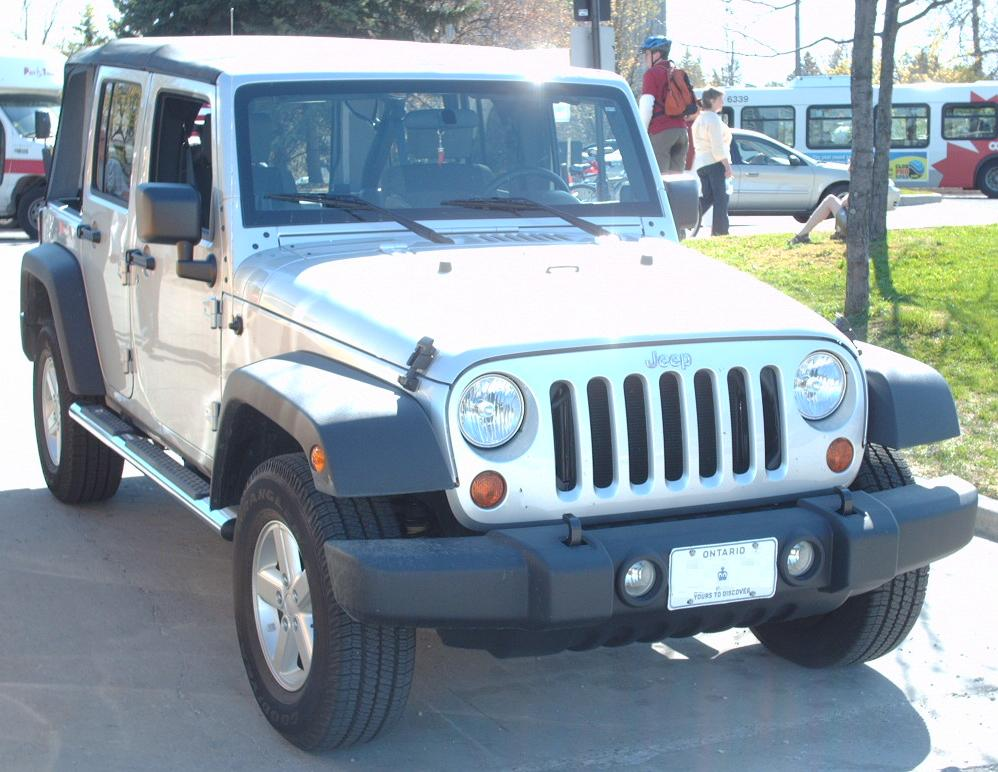 File Jeep Wrangler 4 Door Convertible 2007 Jpg