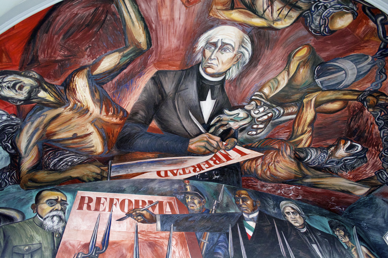 File jos clemente orozco en el palacio de gobierno de for El mural guadalajara jalisco
