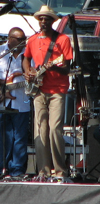 Keb' Mo' in concerto a Kansas City nel 2006