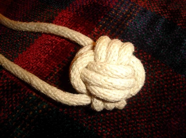 Opinion you monkey fist on a rope god knows!
