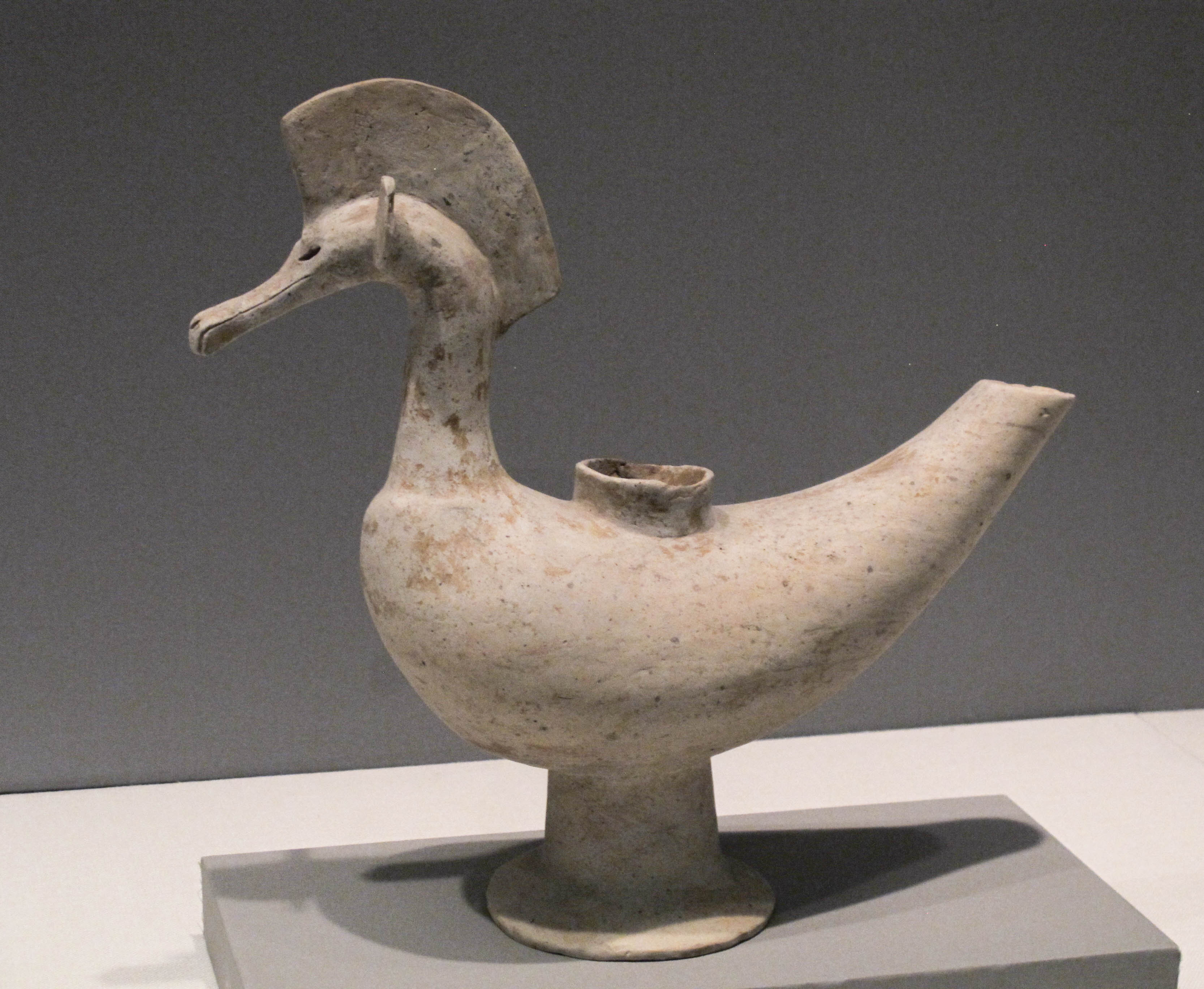 File:Korea-Proto 3 Kingdoms Bird-shaped pottery jpg