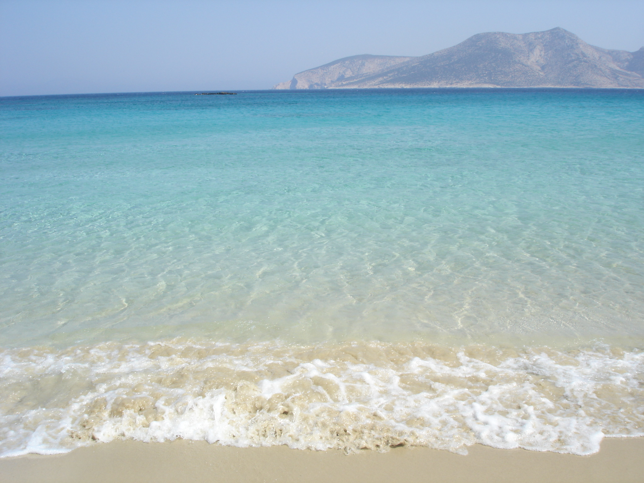 Koufonisi island is just 10kms long and it has beaches like this one in the photo. It is one of the most upcoming islands in Greece in the past 15 years and it is very tough to find a room in the summer, if you don't book at least 6 months in advance.