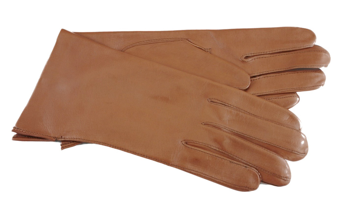 Ladies leather gloves large - File Ladies Leather Gloves Cognac Jpg