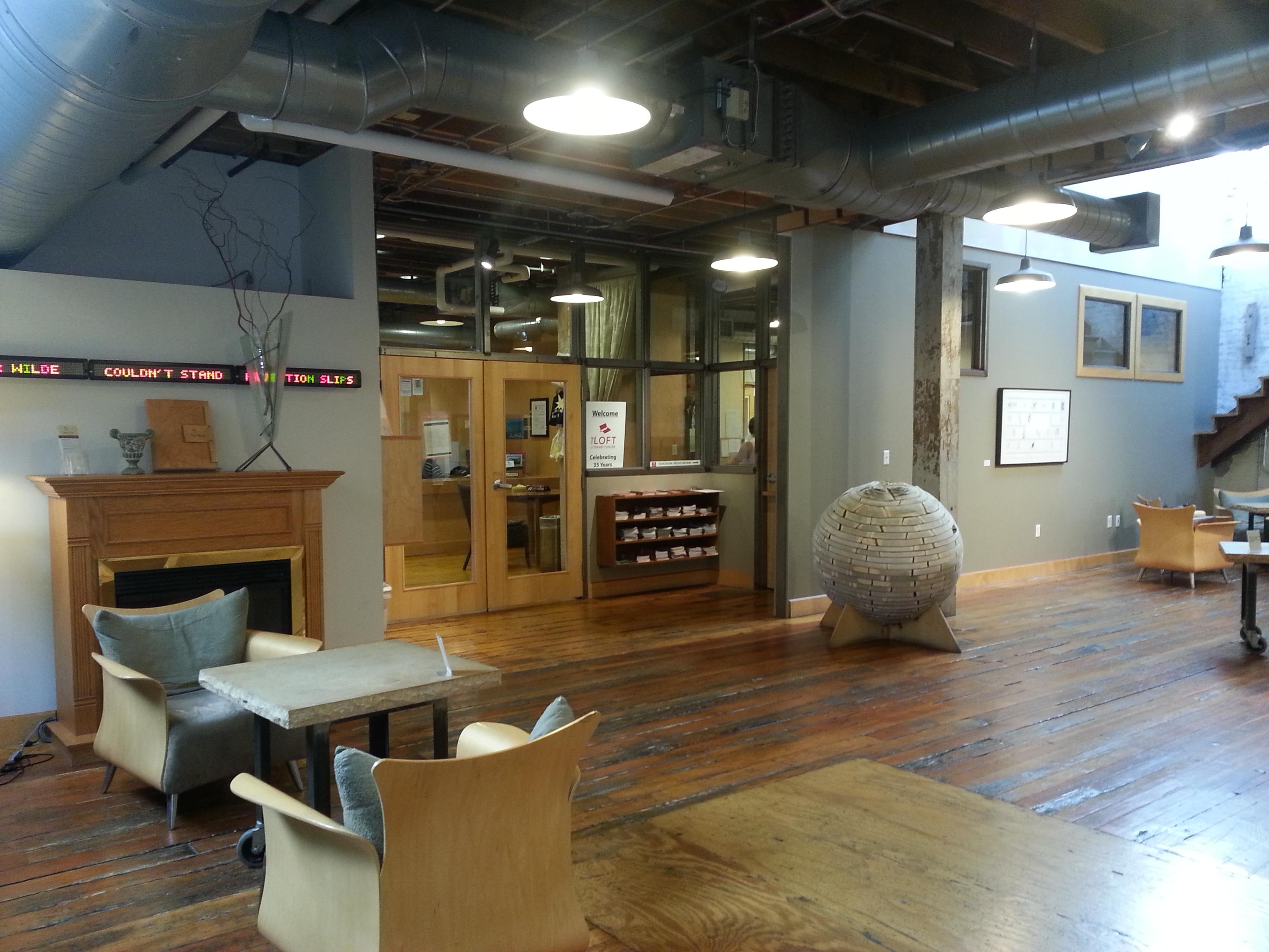 File Loft Literary Center Lobby At Open Book Minneapolis August Wikipedia