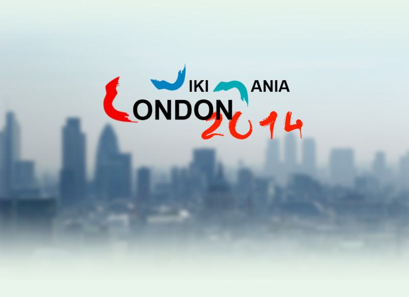 A logo for Wikimania 2014
